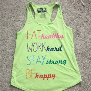 Tops - Workout Tank Size Small